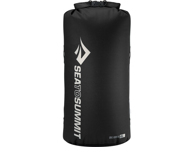 Sea to Summit Big River Bolsa seca 65L, black